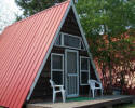 Aframe Cabin, Dutch Lake Resort, Clearwater, BC, Canada
