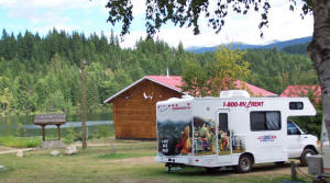 RV, Camping, Dutch Lake Resort & RV Park, Clearwater, BC, Canada, Wells Gray Park